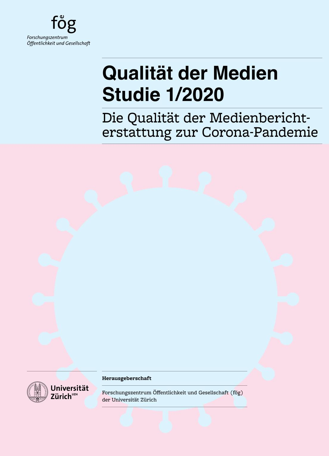 Cover Leitmedienstudie